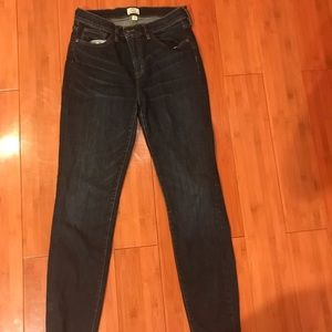 J.Crew Look Out High Rise Skinny Jeans